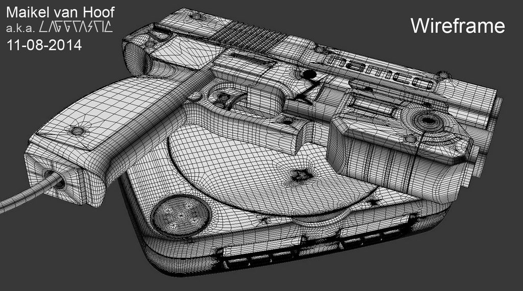 PS One Gcon45 Wireframe by Laggtastic