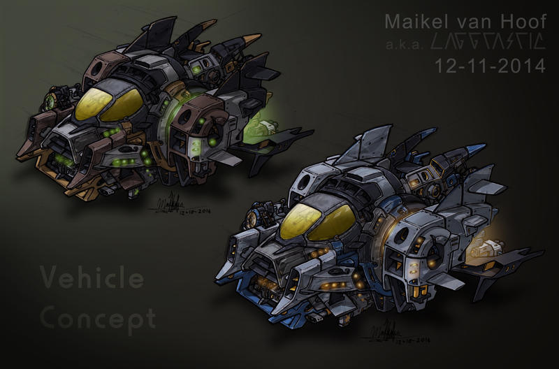 Vehicle concept_Done by Laggtastic