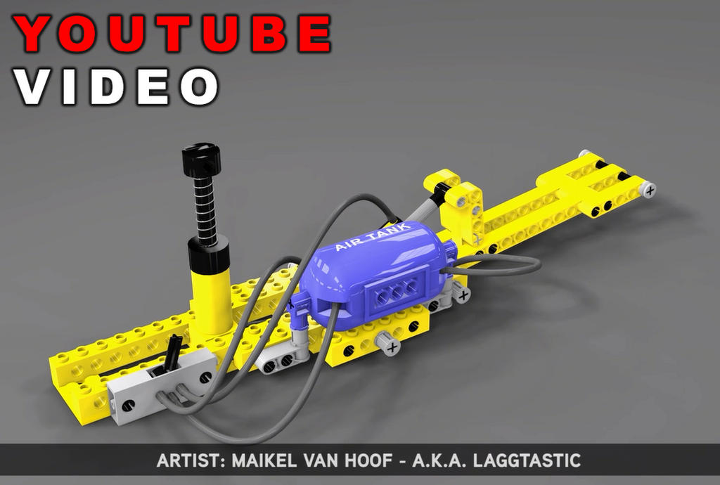 Youtube video: Lego Technic based 3D Animations by Laggtastic