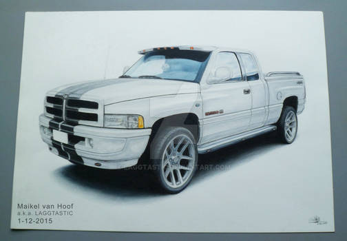 Dodge Ram 1500 drawing