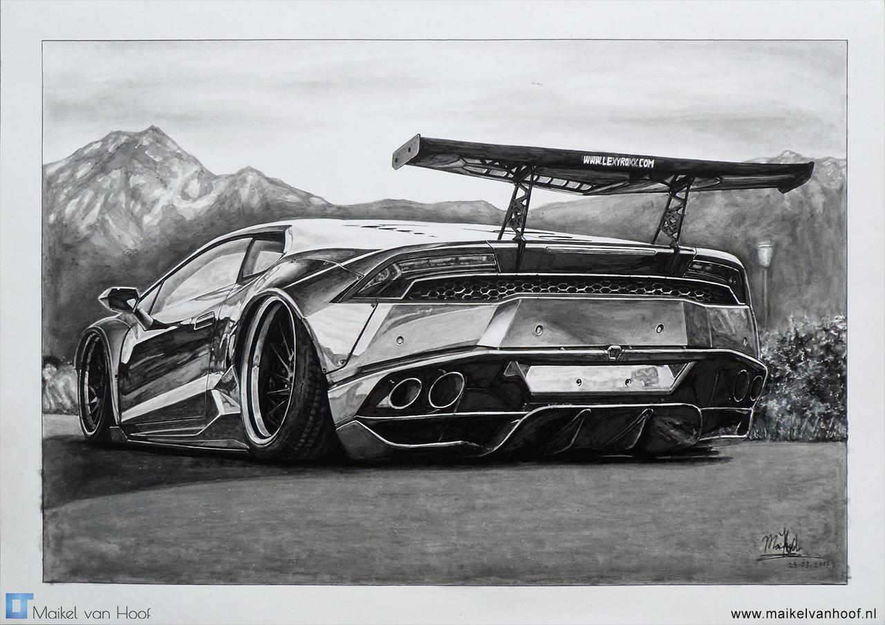 Liberty Walk Lamborghini Huracan by Laggtastic