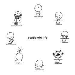 Academic Life by Ennokni