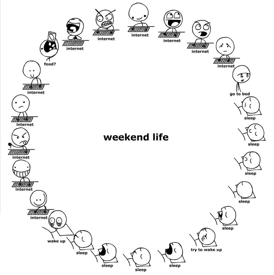 Weekend Life by Ennokni