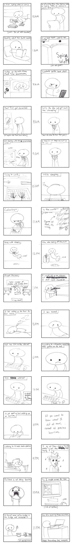 Hourly Comics 2011 by Ennokni