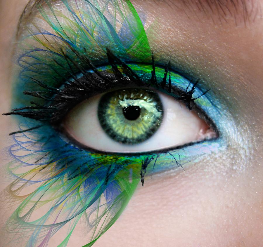 Fractal Makeup by myberg2