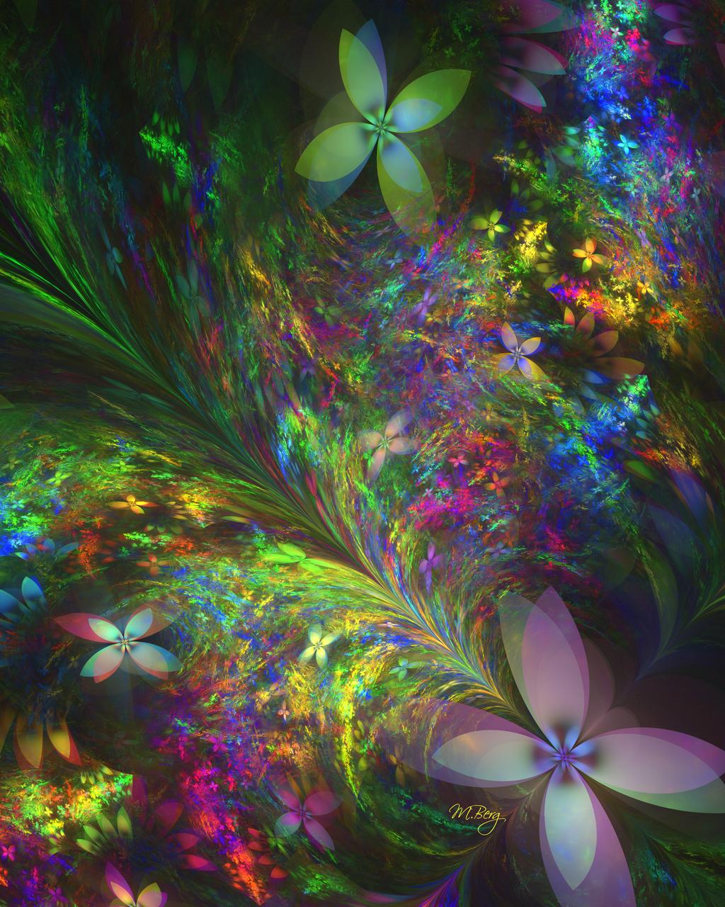 Butterfly Garden by myberg2