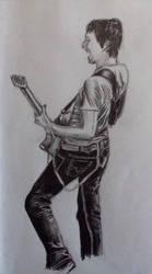 Matthew Bellamy by snakeart