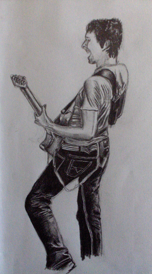 Matthew Bellamy by snakeart