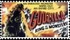 Godzilla Stamp by rachguerrero