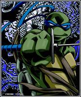 Blue Dragon colored by FREAKfreak