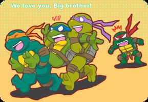we love you, big bro! by FREAKfreak