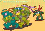 we love you, big bro!