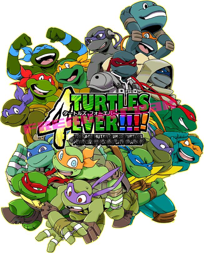 We are TURTLES!!!! by FREAKfreak