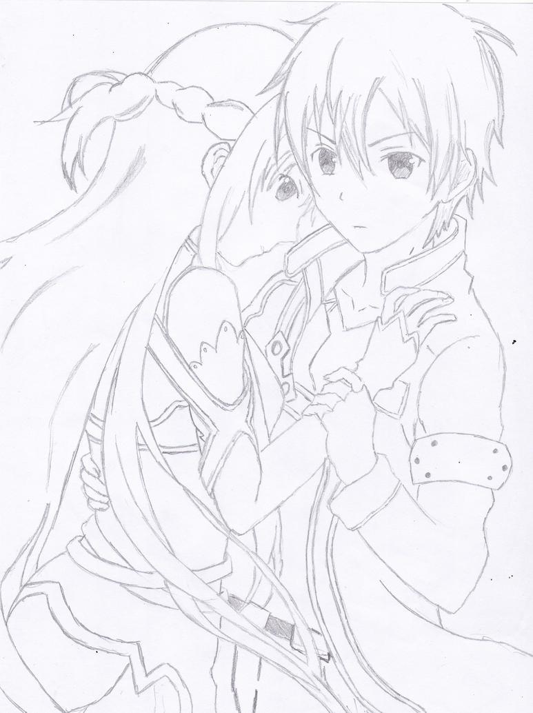 Kirito X Asuna By Aosora00 On Deviantart