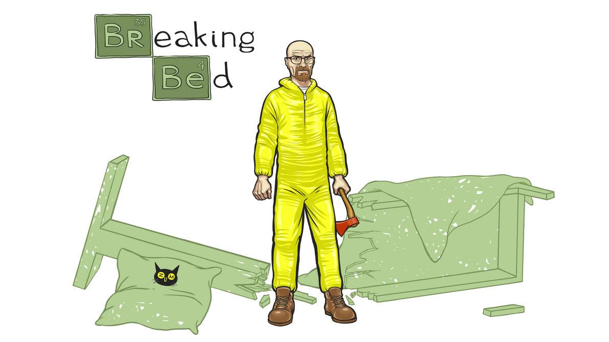 Breaking Bed WP by zumart