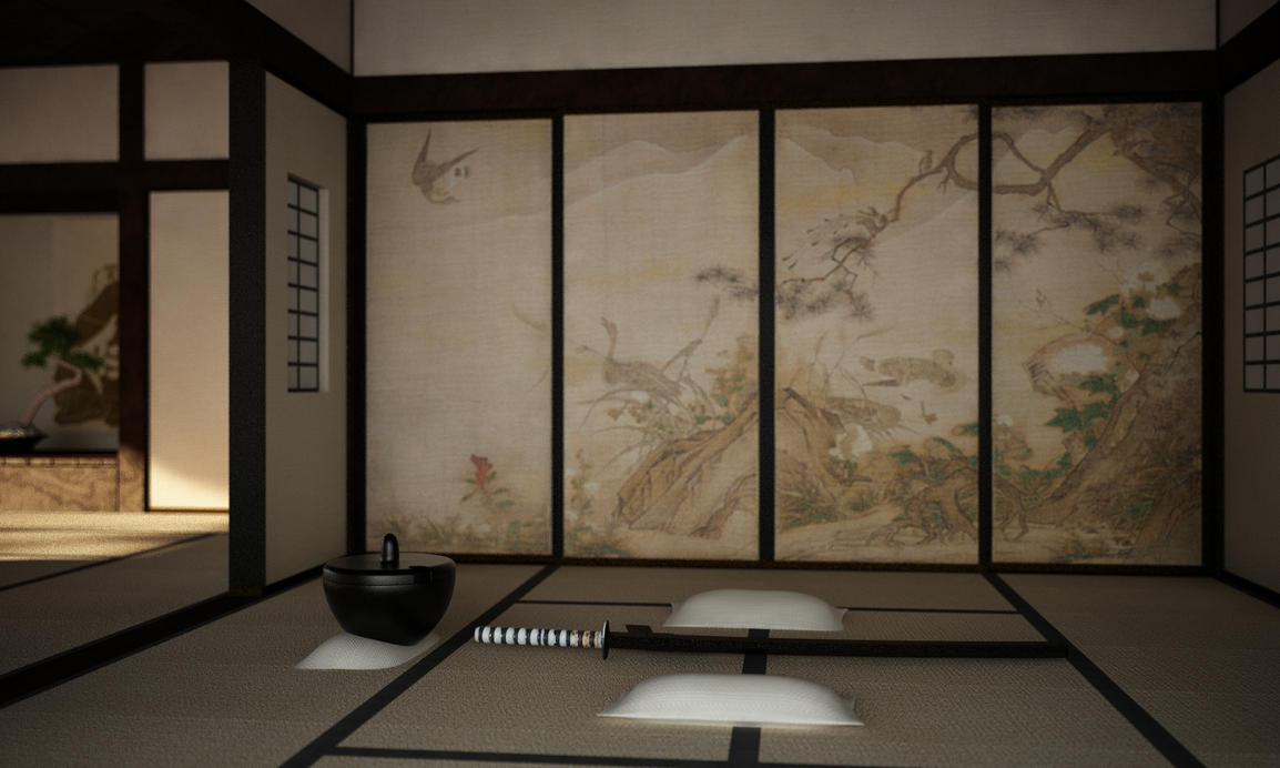 Japanese room 2 by 16fingers ... & Japanese room 2 by 16fingers on DeviantArt