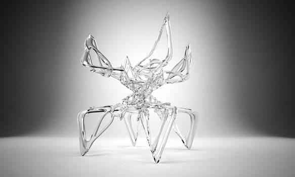 Standing glass