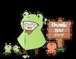 Barosus - Thank You Emote by Sam-Lim