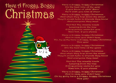 Have A Froggy, Boggy Christmas
