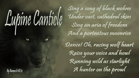 Lupine Canticle