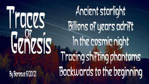 Traces of Genesis