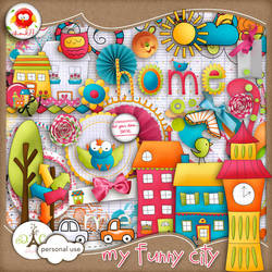 My Funny City - Collect by me by MeowCucheoo