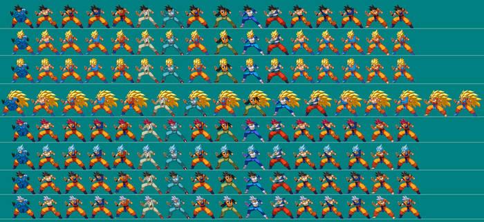 Adult Goku extreme butoden Alt Costumes