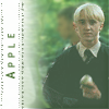 HP Draco Malfoy: 'Apple' by clouded-logic