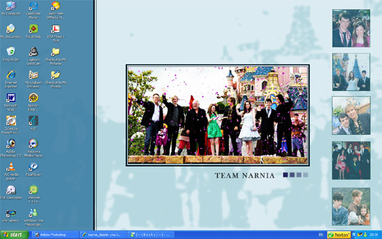 Desktop: Team Narnia by clouded-logic