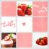 Strawberries checked icon by clouded-logic