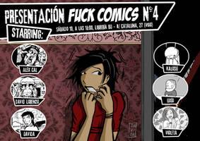 Presentacion Fuck Comics 4 by Davida