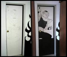 Mural en Estudios Namek 02 by Davida