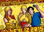 Feliz 2015!!! by Davida