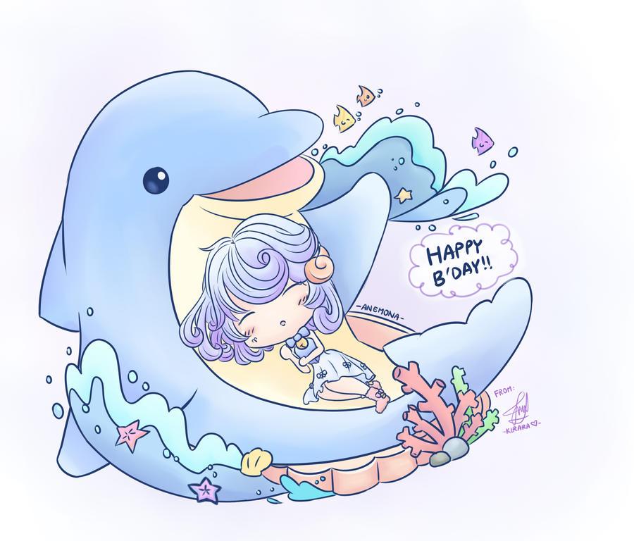 Happy B'day Anemona! by Kirara-CecilVenes