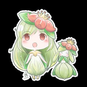 Gijinka - Lilligant
