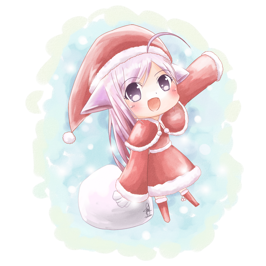 Merry Christmas! ^^ by Kirara-CecilVenes