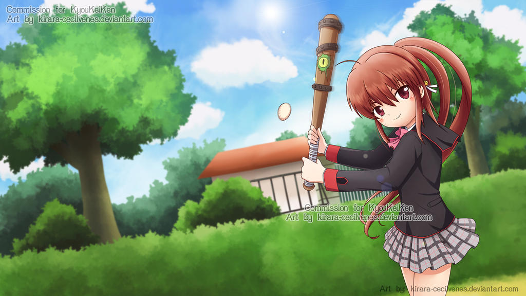 Commission - Rin Natsume - Wallpaper Size by Kirara-CecilVenes