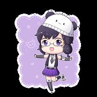 Art Trade - Pastel-chan by Kirara-CecilVenes