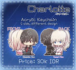 Charlotte Acrylic Keychain
