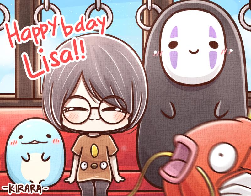 Happy b'day Lisa! by Kirara-CecilVenes