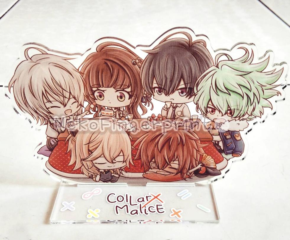 Collar x Malice Acrylic Standee by Kirara-CecilVenes