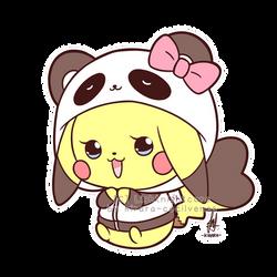 Commission - Chibi Pikachu by Kirara-CecilVenes