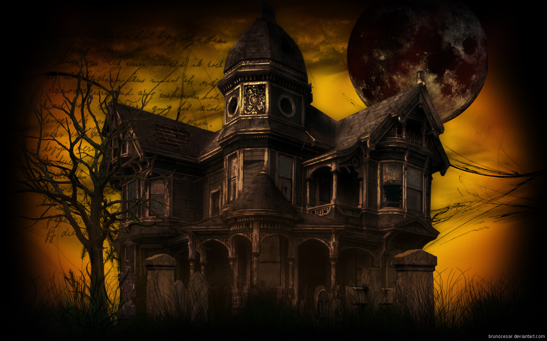 Haunted House By Brunocesar On DeviantArt