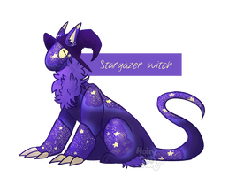 [Adopt] Stargazer witch - CLOSED by Hand-Helld