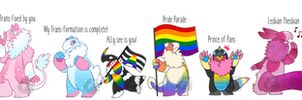[Salas] Pride parade - Adopt batch - DISCOUNTED!!! by Hand-Helld