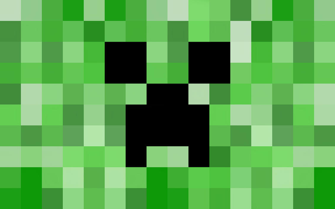 Minecraft Creeper Wallpaper by LynchMob10-09