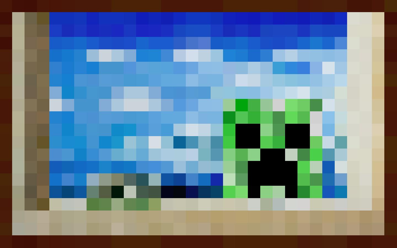 ... Creeper Painting Wallpaper by LynchMob10-09