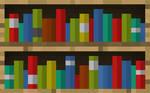 Minecraft Bookcase Wallpaper