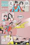 Superboy - Wondergirl Pg 1