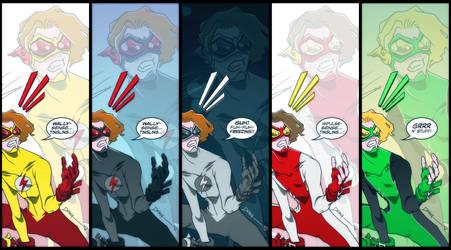 Kid Flash desktop wallpaper by PlanetDann
